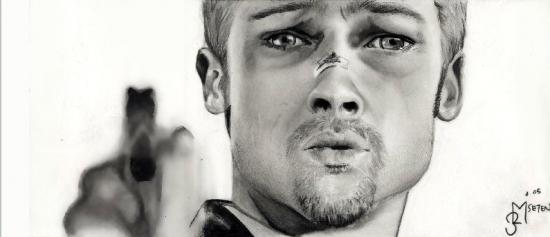Brad Pitt by OnlyMe722